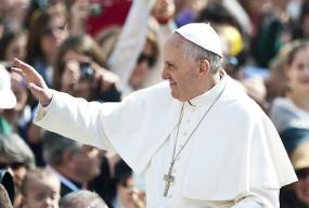 Pope Francis' invitation to party